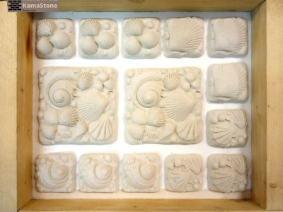 Полиуретановая форма для декоративного камня